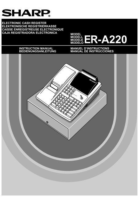 ER-A220 Operation-Manual GB - Sharp