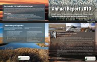2010 Annual Report - South Bay Salt Pond Restoration Project