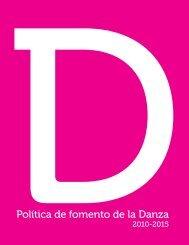 Política de Fomento de la Danza 2010-2015 - Consejo de la Cultura ...