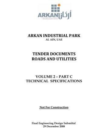 Volume 2 Part C Tech Specs Roads & Utilities.pdf - 3D Market