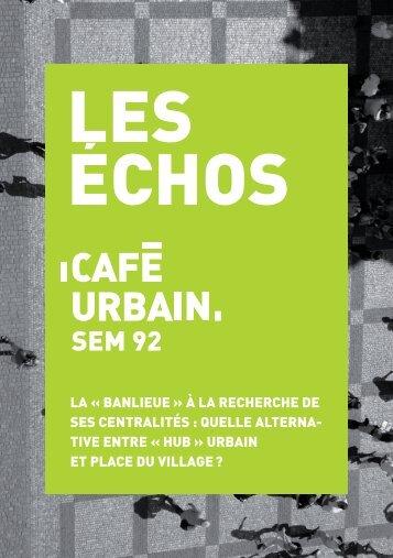 Café urbain - SEM 92