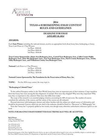 hslda essay contest 2013