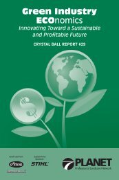 Green Industry ECOnomics - LandcareNetwork.org