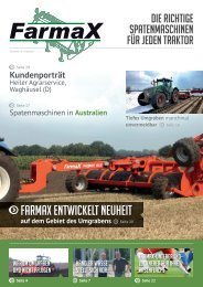 Das Magazin runterladen (PDF). - Farmax Spitmachines en ...