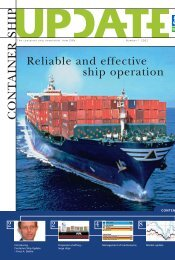 DNV Container Ship update 1-2002