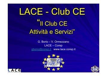 """""""Il Club CE Attività e Servizi"""""""