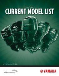 Current Model List - Yamaha