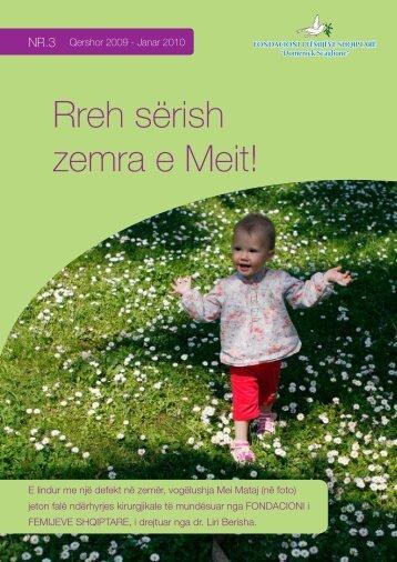 NR.3, Qershor 2009 - Janar 2010 - Albanian Children Foundation