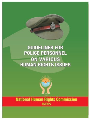 Ist cover - National Human Rights Commission
