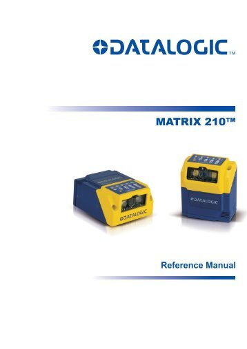 Matrix210 Full Reference Manual.pdf - Datasensor