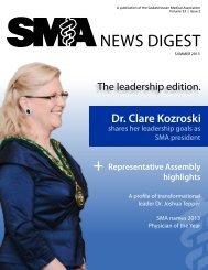 news digest + - Saskatchewan Medical Association