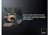 Multicore processers And Data Center Power Efficiency