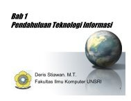Bab 1 Pendahuluan Teknologi Informasi