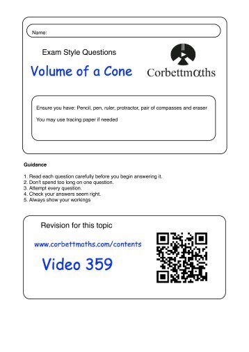 math worksheet : volume of cone worksheet  math worksheets for kids : Volume Math Worksheets