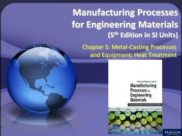 Manufacturing Processes for Engineering Materials (5th Edition in SI ...