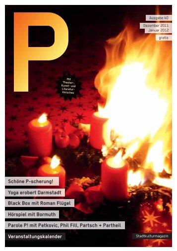 Parole P! mit Petkovic, Phil Fill, Partsch + Partheil - P-Magazin