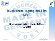 Neues aus der Ausbildung - LTVT