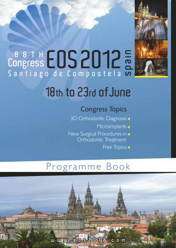 COMMITTEES - 88th Congress EOS :: 2012 Santiago de Compostela