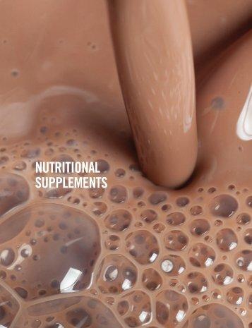 NUTRITIONAL SUPPLEMENTS - MDA