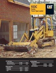 933C Hystat Track-Type Loader AEHQ3869-01 - Kelly Tractor