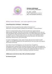 Informationen als PDF - Heilmedium Christine Grillnberger ...
