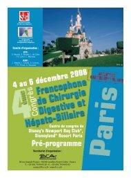 Pré-programme - Santé-DZ