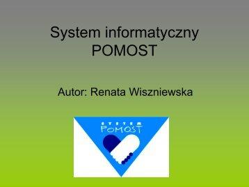 System informatyczny POMOST