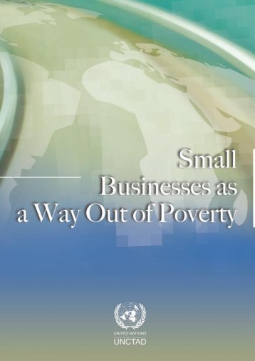 Small Businesses as a way out of poverty - Unctad XI