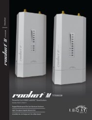 Rocket™M Titanium | Datasheet - Ubiquiti Networks