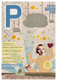 Favoriten des Monats - P-Magazin