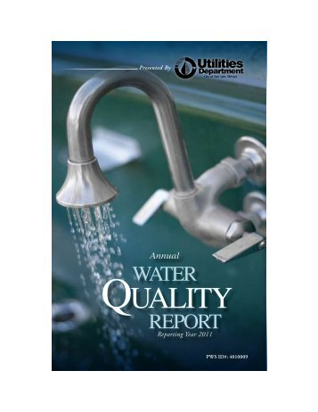2011 Annual Water Quality Report - the City of San Luis Obispo