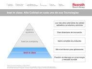 best in class - Bosch Rexroth