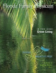 Green Living - Florida Academy of Family Physicians
