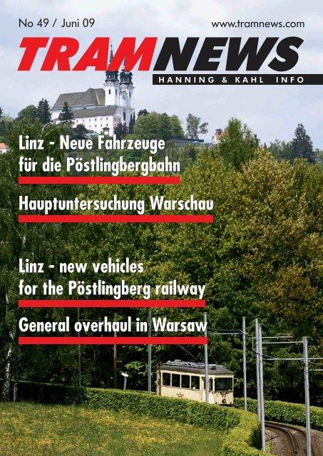 Linz - Neue Fahrzeuge für die Pöstlingbergbahn ... - Hanning & Kahl