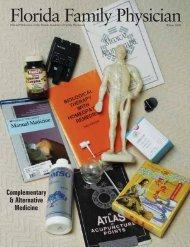 Complementary & Alternative Medicine - Florida Academy of Family ...