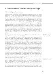 Capitolo 1. La dimensione del problema: dati epidemiologici - Data