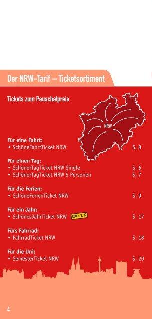 schöner tag ticket nrw