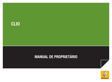 MANUAL DE PROPRIETÁRIO - Renault do Brasil