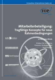 Mitarbeiterbeteiligung: - OWL-Maschinenbau e.V.