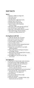 Press Kit - Coeur d' Alene Casino - Page 4