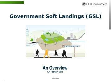 An Overview Government Soft Landings (GSL) - BIM Task Group