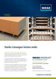 Starke Lösungen leisten mehr. - WASA Technologies