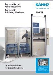 PL-K08 Automatische Poliermaschine Automatic Polishing Machine ...