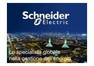 Schneider Electric: chi siamo
