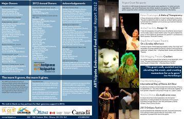 2012 Annual Report - Articipate