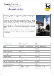 Gemeinde Wolfegg - WiR GmbH Landkreis Ravensburg