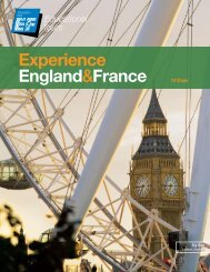 Experience England&France 10 Days - EF Educational Tours