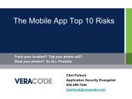 The Mobile App Top 10 Risks
