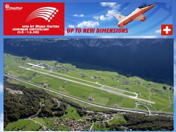 Presentation JWM 2013 - Jet World Masters 2013, Haslital, Schweiz
