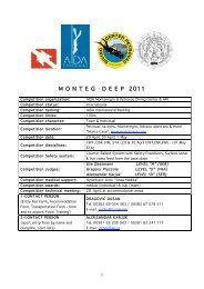 M O N T E G   D E E P  2011 - Diving Center Petrovac :: Montenegro